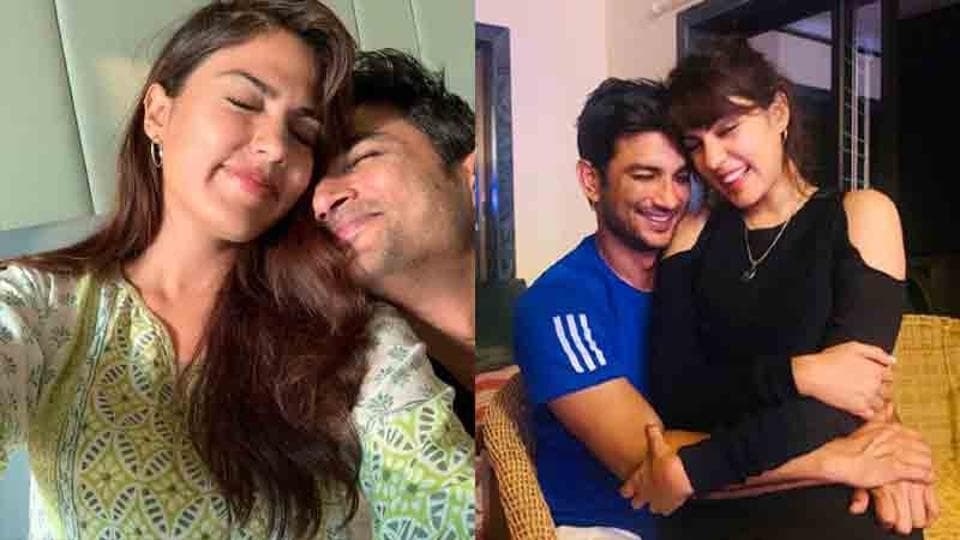 Rhea Chakraborty has written an open letter to Sushant Singh Rajput along with a few pictures.