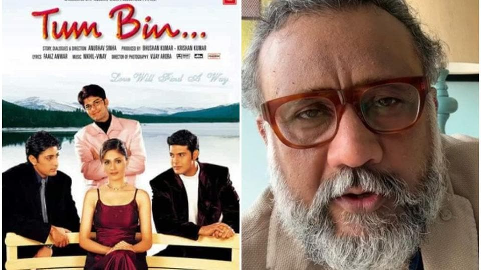 Anubhav Sinha's directorial debut was Tum Bin.