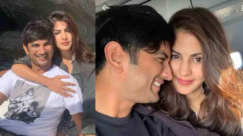 Rhea Chakraborty has changed her WhatsApp profile picture and it shows her with late actor Sushant Singh Rajput.