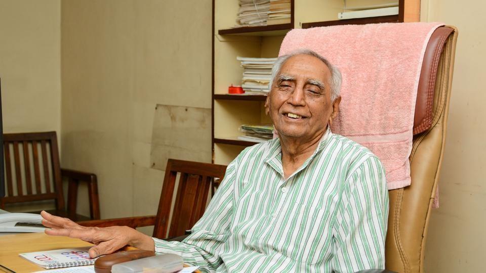 Social worker Baba Adhav