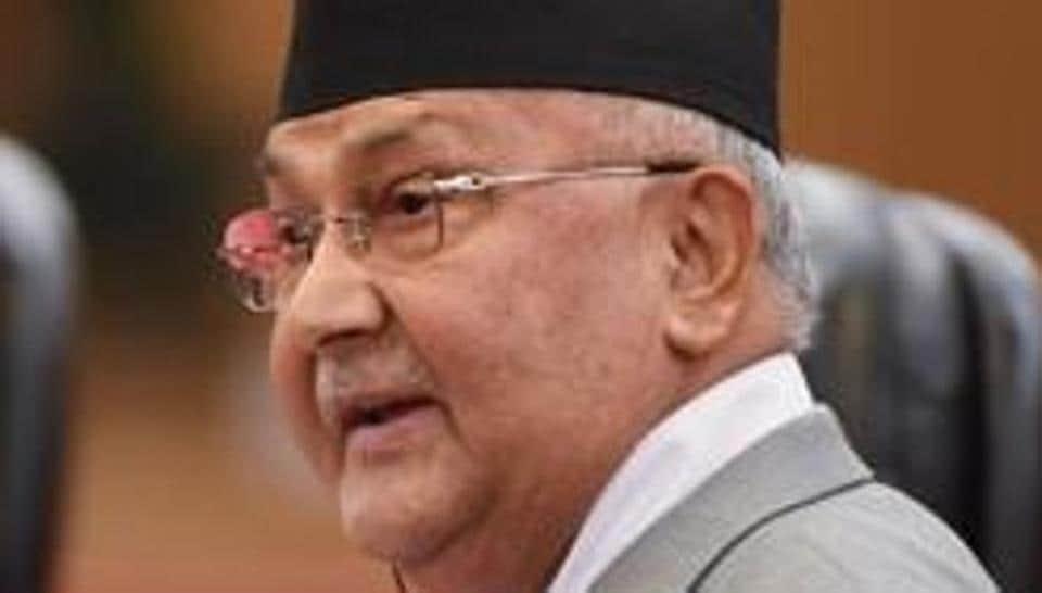 File photo: Nepal's Prime Minister KP Sharma Oli.