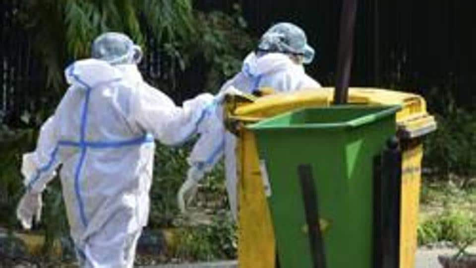 The PIL, filed through advocate Sadhana Kumar, expressed concerns about the discriminate dumping of contaminated bio-medical waste at the landfill waste amid the rapid spread of the viral infection.