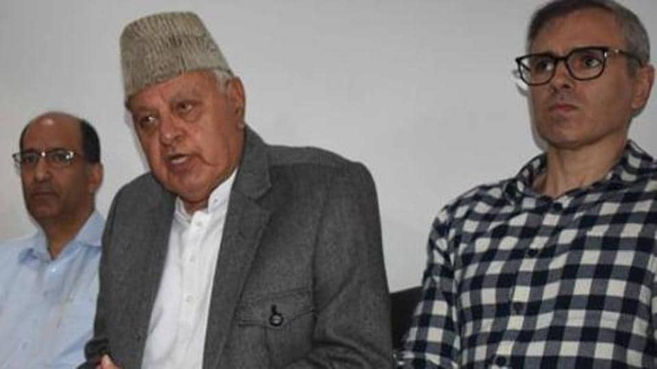 "In their plea Srinagar MP Farooq Abdullah and his son and former chief minister Omar Abdullah said the detention of NC leaders was ""unconstitutional and illegal."""