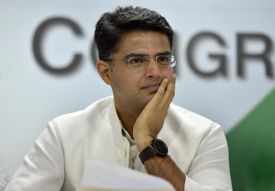 File photo: Rajasthan Congress chief Sachin Pilot.