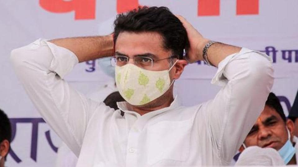 A video was shared late at night on Sachin Pilot's official WhatsApp group.