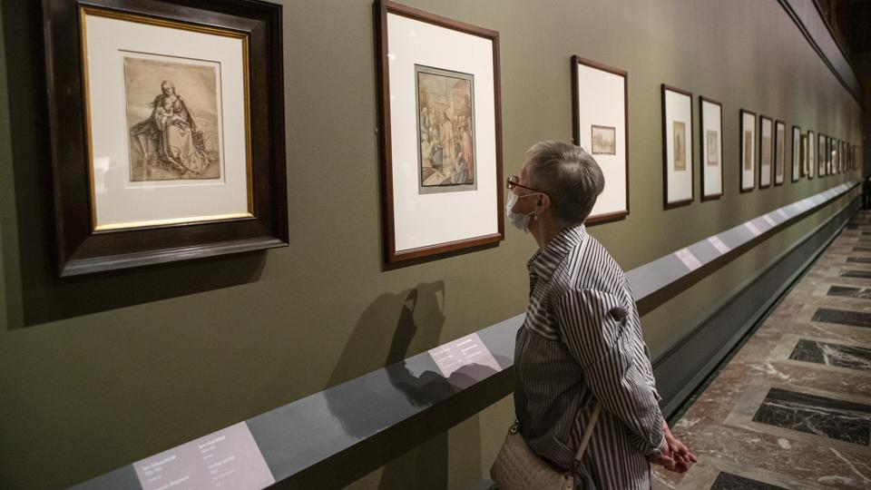 From Durer to Matisse Selected drawings covers five centuries of European drawing, from the late 15th to the mid-20th century. (AP PHOTO/Alexander Zemlianichenko Jr)