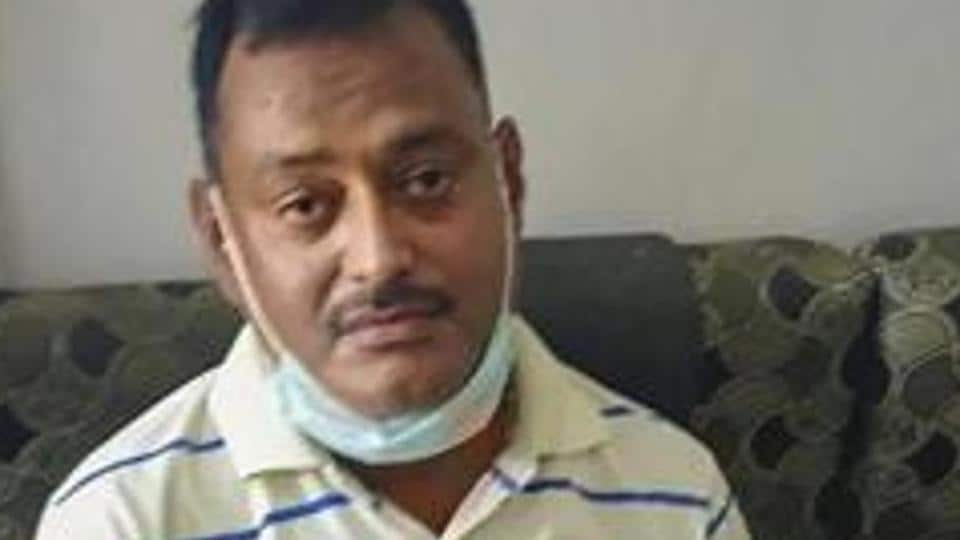 Gangster Vikas Dubey, the main accused in killing of eight policemen in the Kanpur encounter.