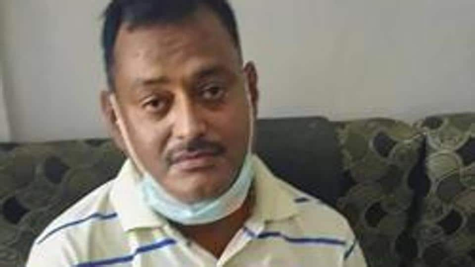 Gangster Vikas Dubey, the main accused in killing of eight policemen in the Kanpur encounter last week.