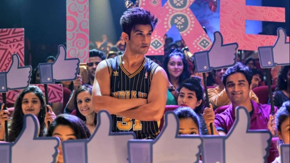Sushant Singh Rajput in a still from the Dil Bechara title track.