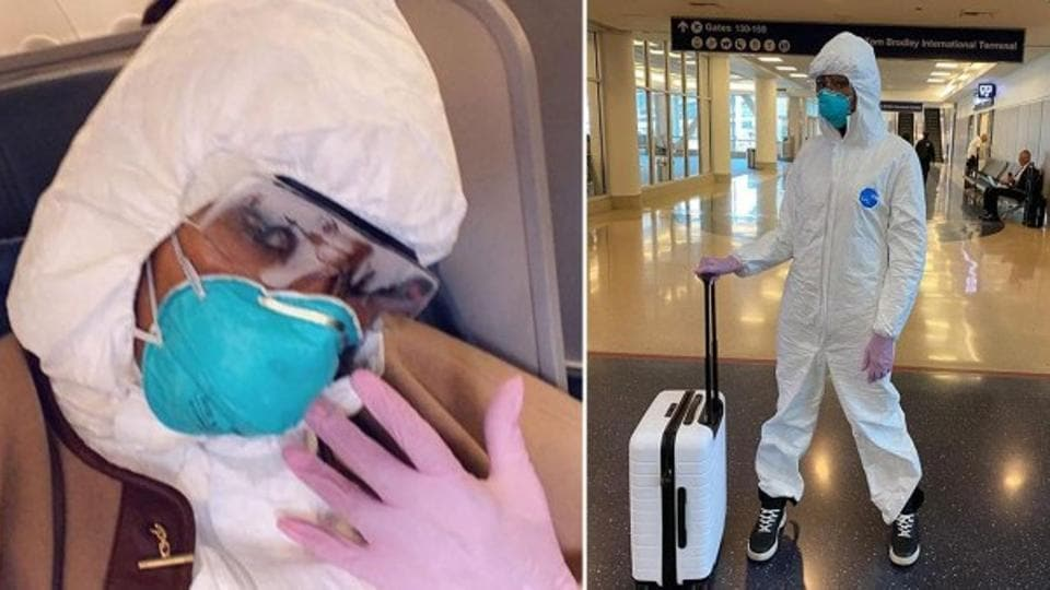 Coronavirus: Hazmat suits for air travel are here – fashion and trends