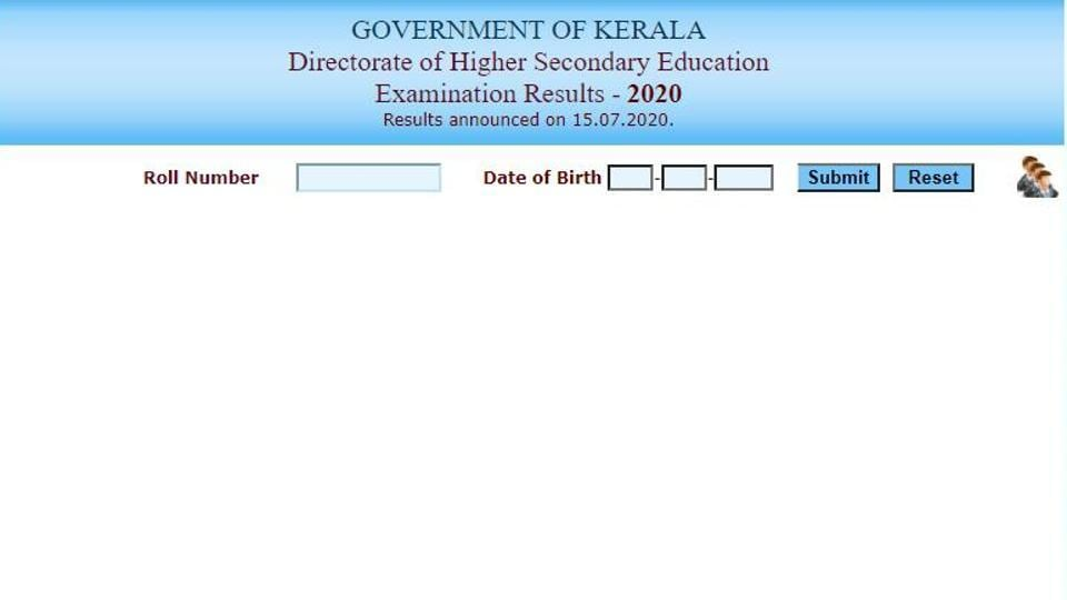 DHSE Kerala Plus Two Results 2020.