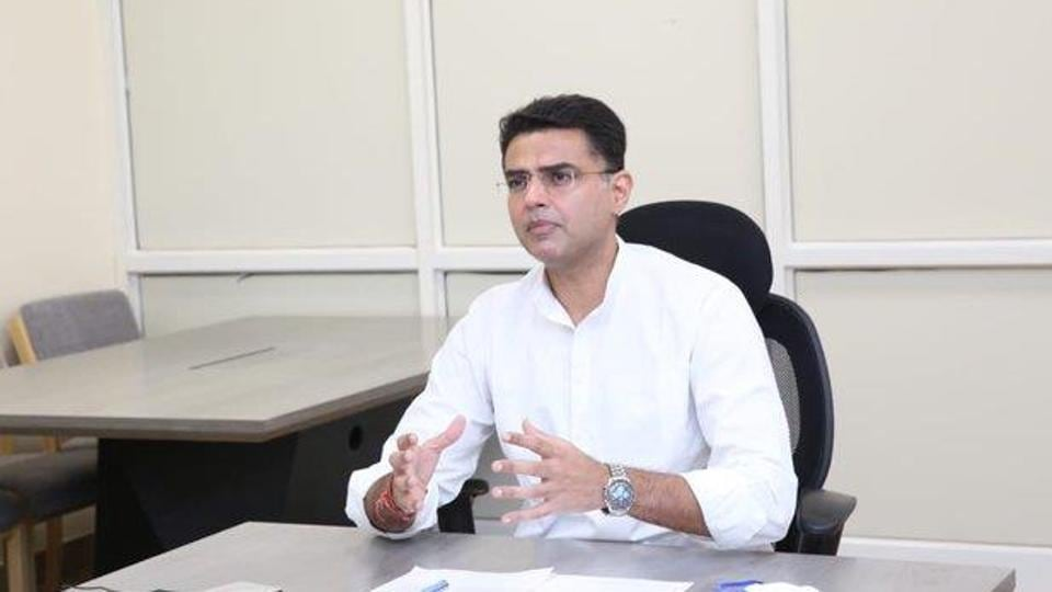 The latest peace offering follows Sachin Pilot's statement this morning where he categorically ruled out joining hands with the BJP. (Photo @SachinPilot)