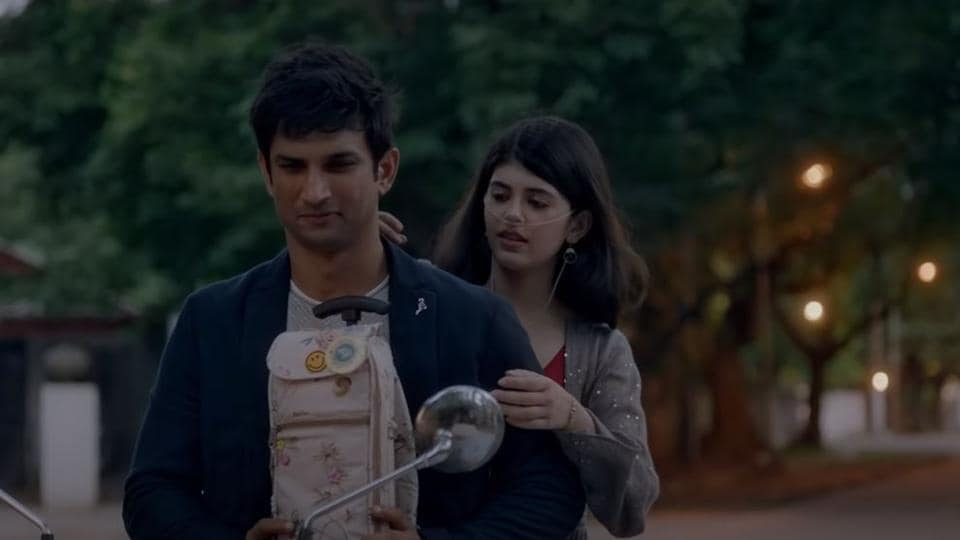 Dil Bechara song Taare Ginn: Sushant Singh Rajput takes Sanjana Sanghi and her oxygen tank to prom. Watch – bollywood