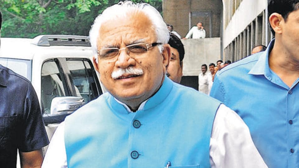 Haryana CM Manohar Lal Khattar said anyone was welcome to stay in private hotels in the state.
