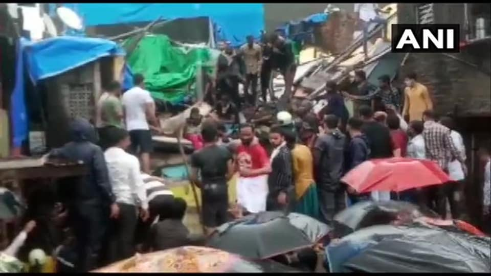 According to the official, five to six people were trapped under the debris. Of them, four were rescued and sent to hospitals after being provided first aid.