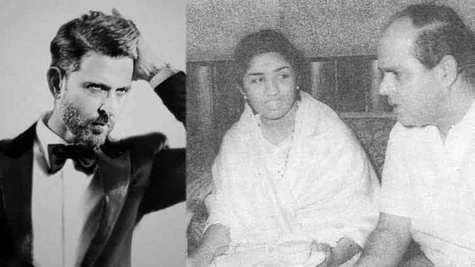 Hrithik Roshan has reacted to Lata Mangeshkar's tweet about his grandfather and music director Roshanlal Nagrath.