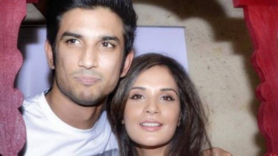 Richa Chadha and Sushant Singh Rajput.