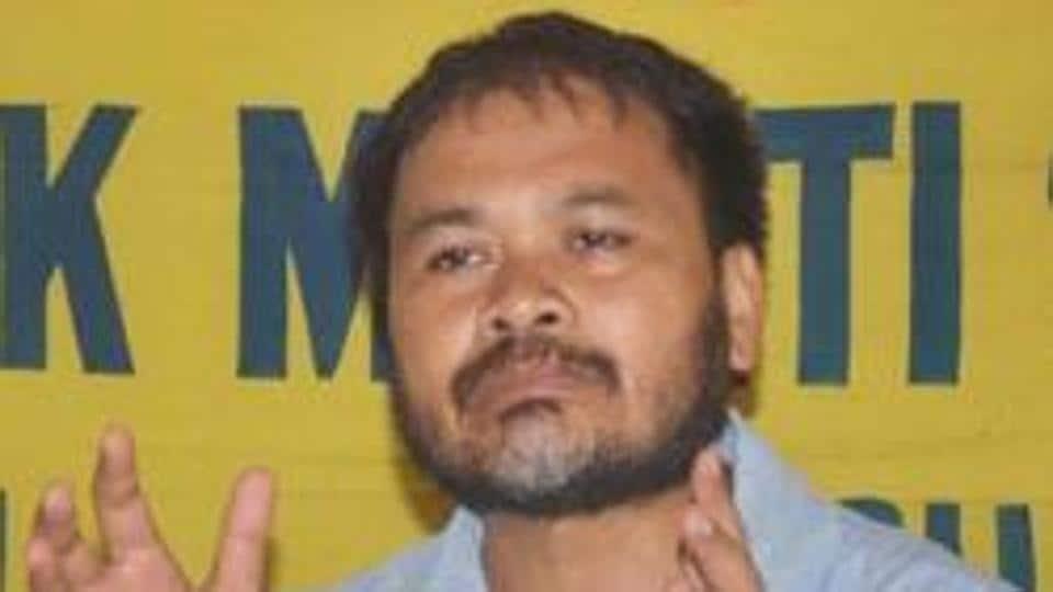 Krishak Mukti Sangram Samiti leader Akhil Gogoi is now in hospital after testing positive for Covid-19
