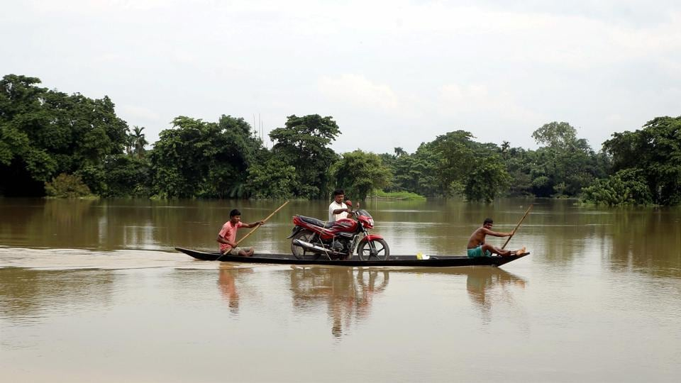 Five deaths due to drowning-2 in Morigaon district and one each in Barpeta, Lakhimpur and Goalpara-were reported during the day.