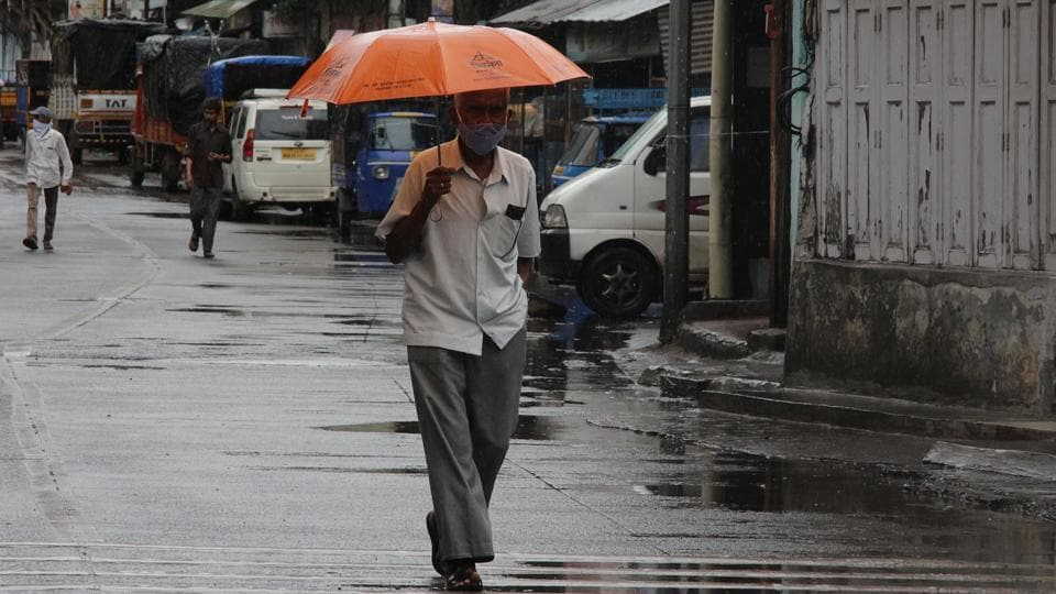 Since the last few days, there is a thick cloud cover over the city, but it has not rained heavily, said, officials.