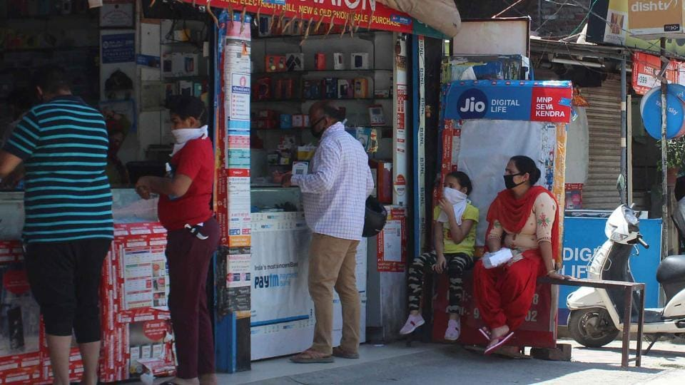 Quality of various food items and their expiry dates were checked in various shops by the food safety team in Mohali and samples taken through the mobile food testing van being run by the health department.