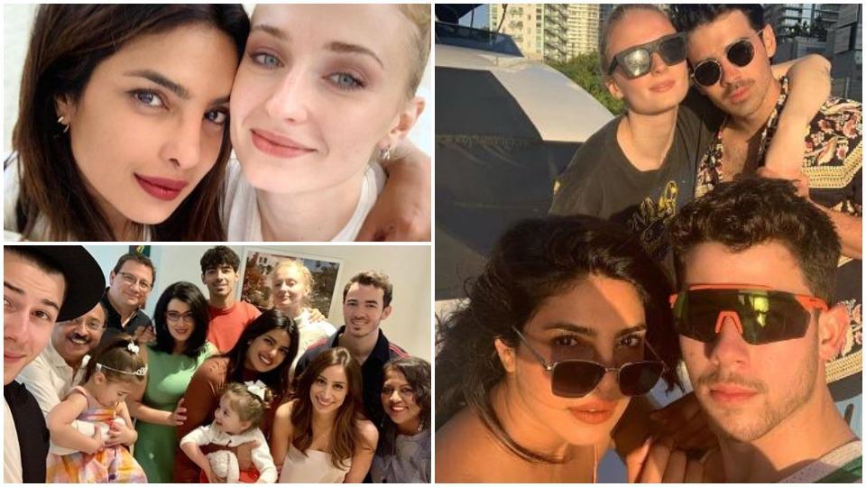Priyanka Chopra has found herself a cute and large family.