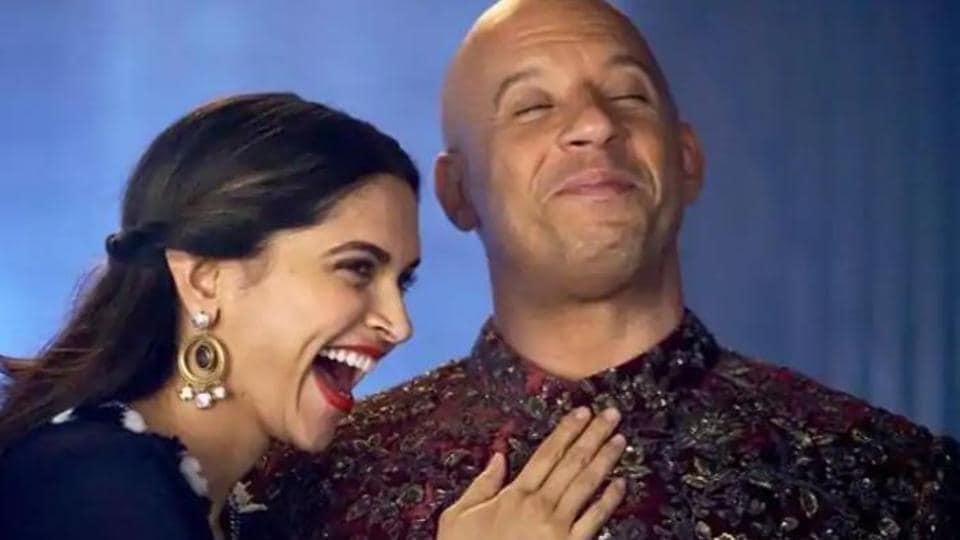 Vin Diesel and Deepika Padukone promote xXx: Return of Xander Cage.