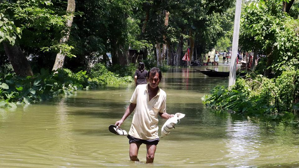 The total number of revenue circles affected is 79 and over 2,678 villages were devastated by the floods.