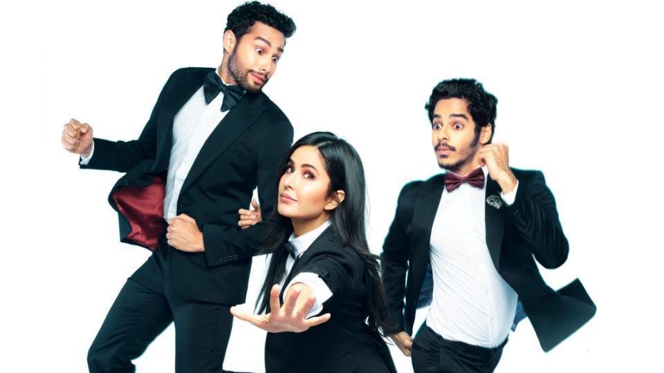 Phone Bhoot first look: Katrina Kaif, Siddhant Chaturvedi and Ishaan Khatter create some mayhem.