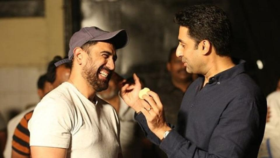 Amit Sadh and Abhishek Bachchan starred in Breathe: Into the Shadows together.