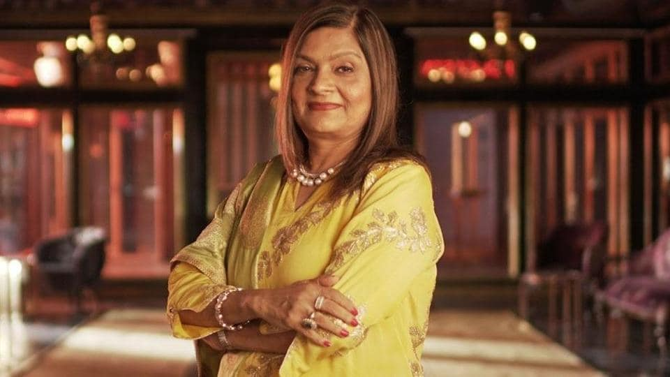 Sima Taparia, the matchmaker at the centre of Indian Matchmaking.