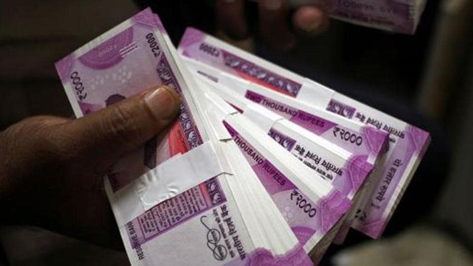 Rupee had settled at 74.91 against the US dollar on Monday.