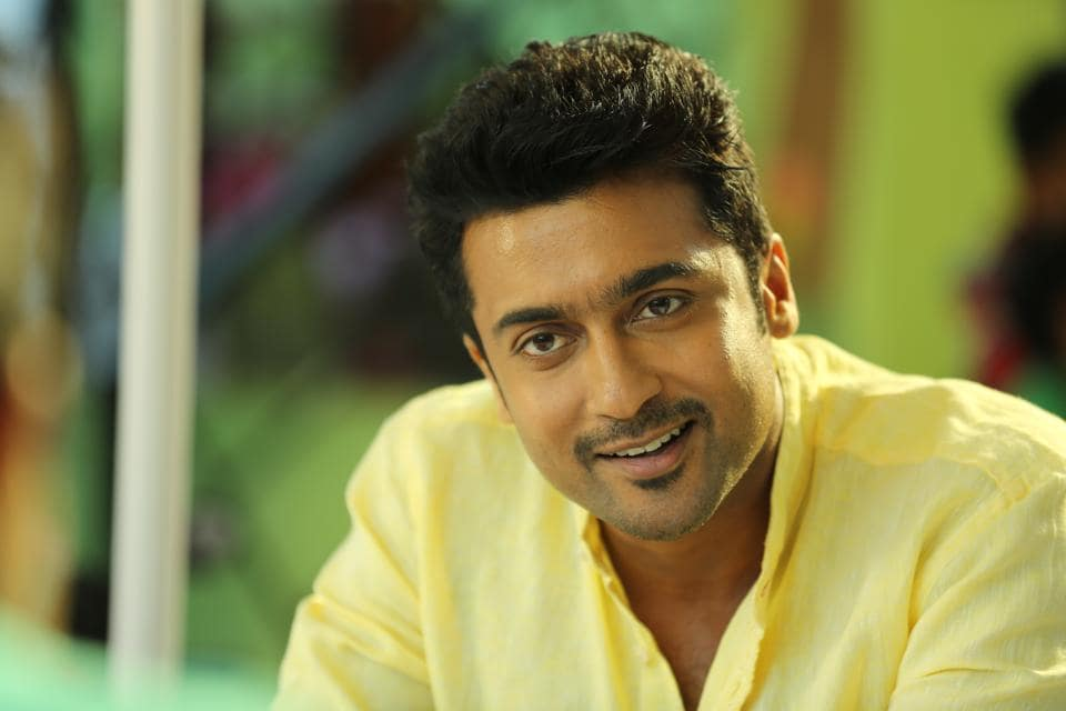 Suriya has been working in the Tamil film industry for 20 years.