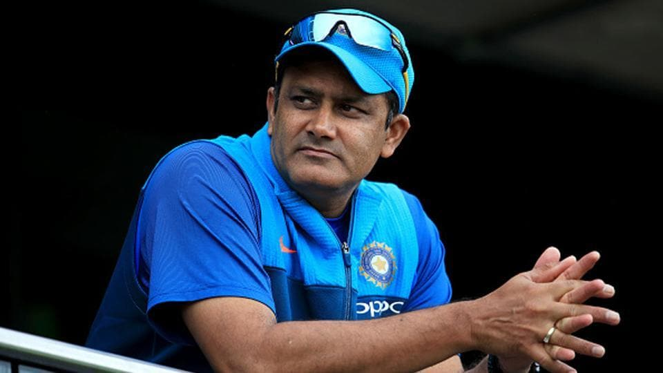 Anil Kumble was appointed India head coach in June of 2016