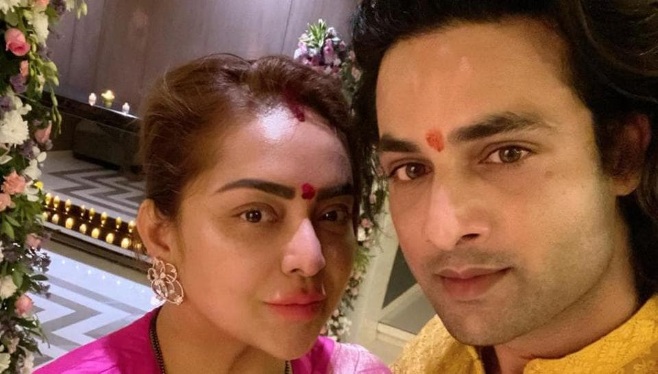 Himanshu Soni with wife Sheetal (file picture).
