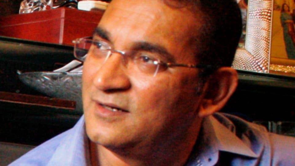 Abhijeet Bhattacharya says his son has the coronavirus.