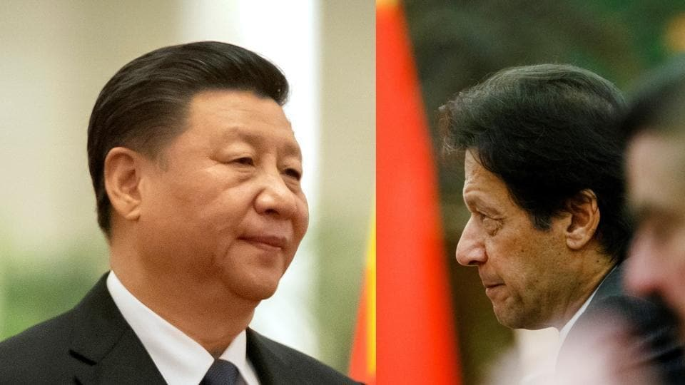 President Xi Jinping's China uses its client states in South Asia such as Imran Khan's Pakistan  to attempt to contain the rise of India.