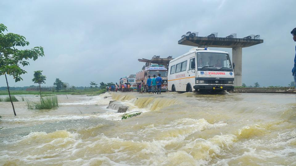 There has been no report of any loss of life due to the floods in Bihar so far, the disaster management department said