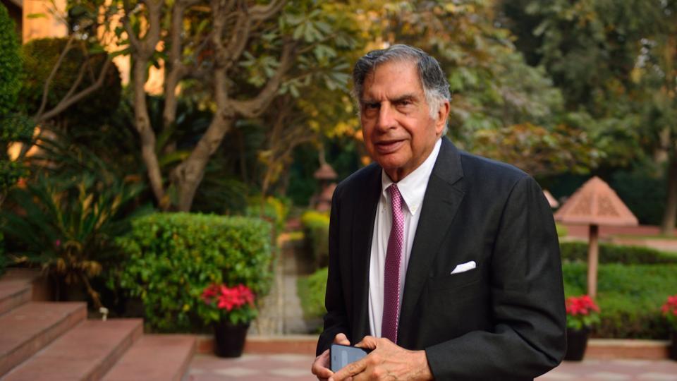 Ratan Tata, chairman of Tata Trusts.