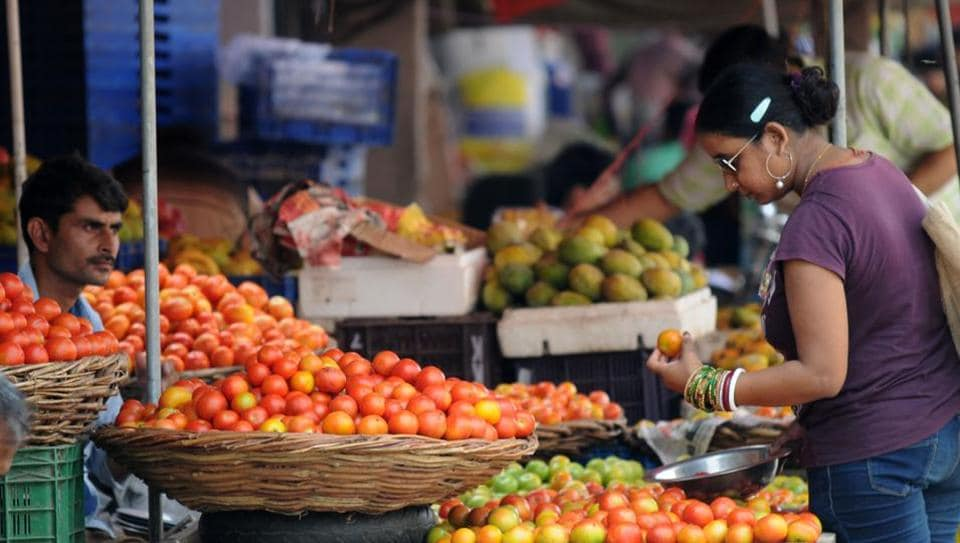 Tomatoes are selling at ₹ 70 per kg in the Capital.