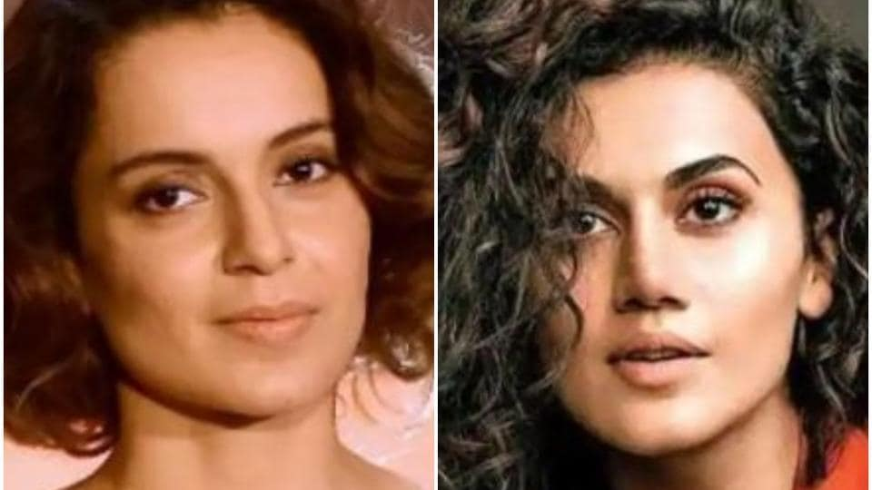 Taapsee Pannu and Kangana Ranaut have been feuding.