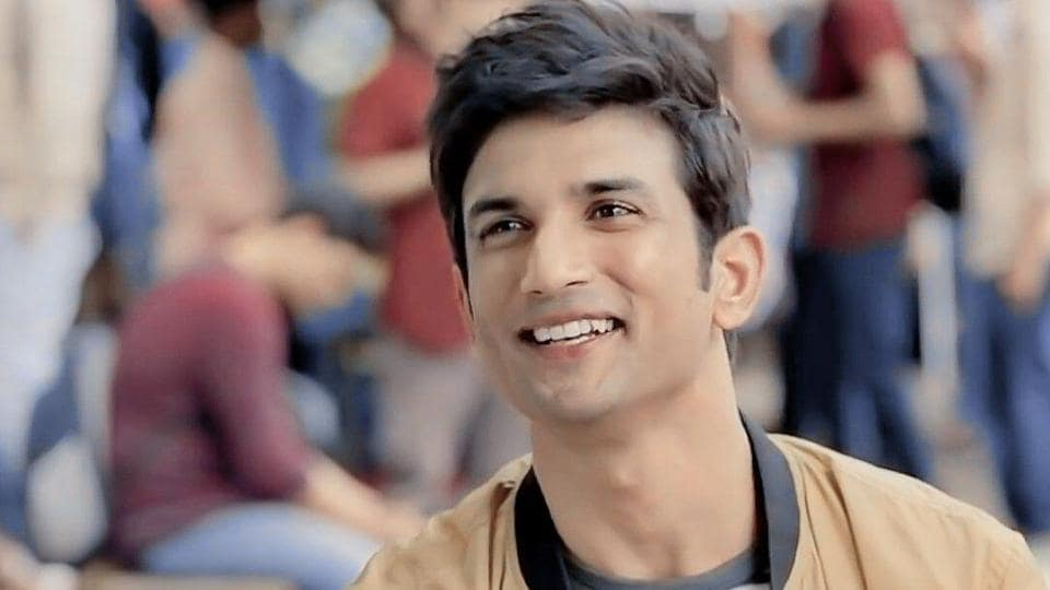 Sushant Singh Rajput in a still from Dil Bechara.