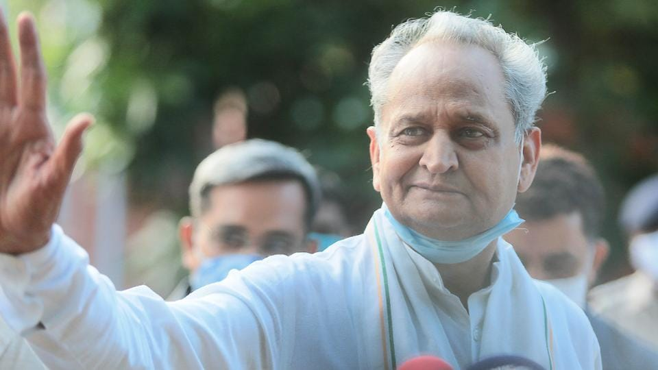 Rajasthan Chief Minister Ashok Gehlot had chaired a meeting of the cabinet on Friday night to discuss the points raised by the governor on its earlier proposal.