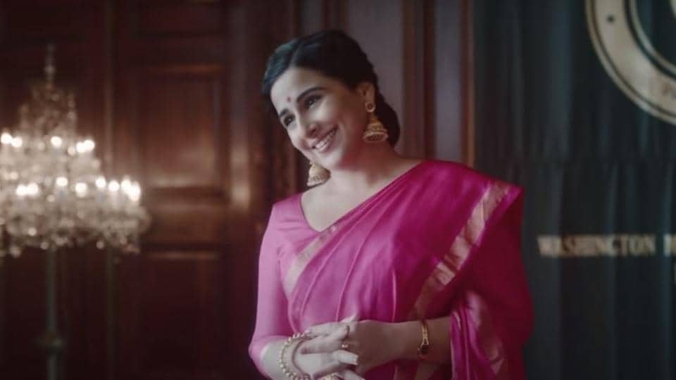 Vidya Balan as Shakuntala Devi. No matter who she's playing, the actor always manages to humanise the woman, take you into her inner life, struggles and desires.