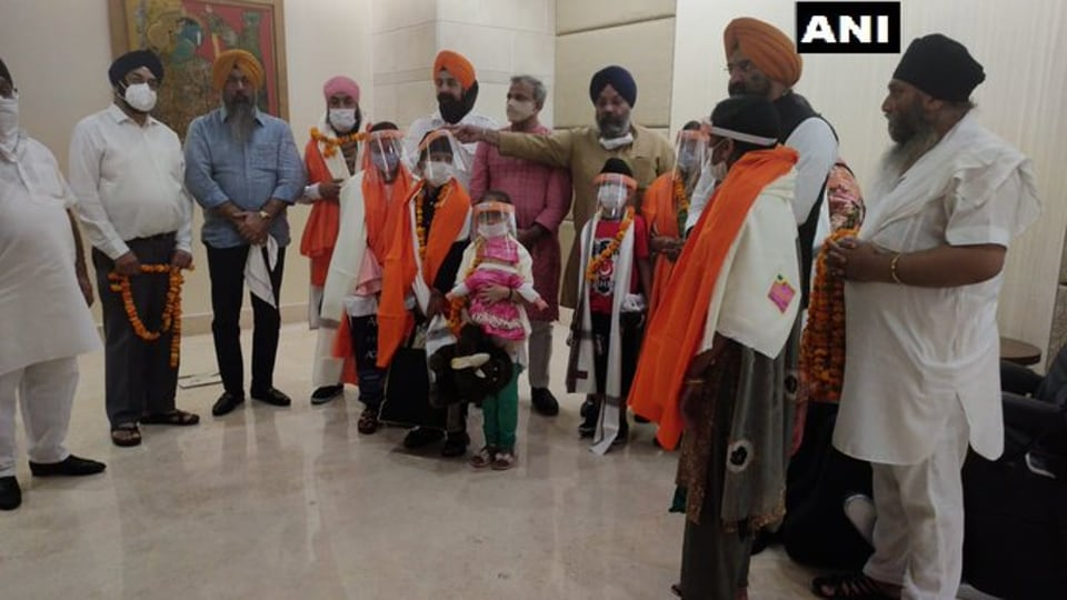 Ministry of External Affairs recently announced that India has decided to facilitate the return of Afghan Hindu and Sikh community members facing security threats in Afghanistan to India.