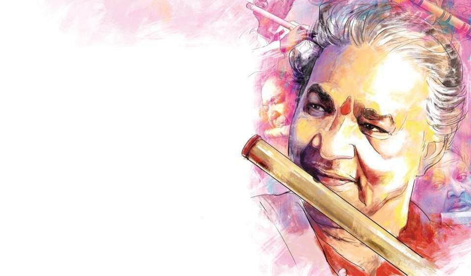 Hariprasad Chaurasia worked with various  international musicians such as Jan Garbarek, Ken Lauber and John McLaughlin. The flautist popularised Hindustani classical music by touring and performing across the world.