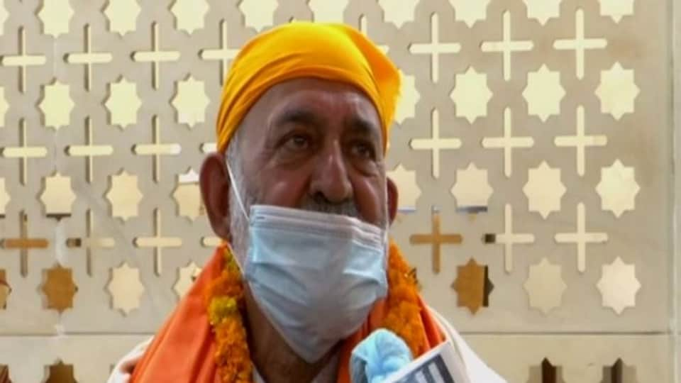 Nidan Singh Sachdeva, an Afghan Sikh, was abducted from a gurudwara in Afghanistan's Paktia province in June, 2020, and later released.