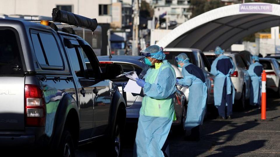 Australia's Victoria state reports 10 new coronavirus deaths, 459 cases