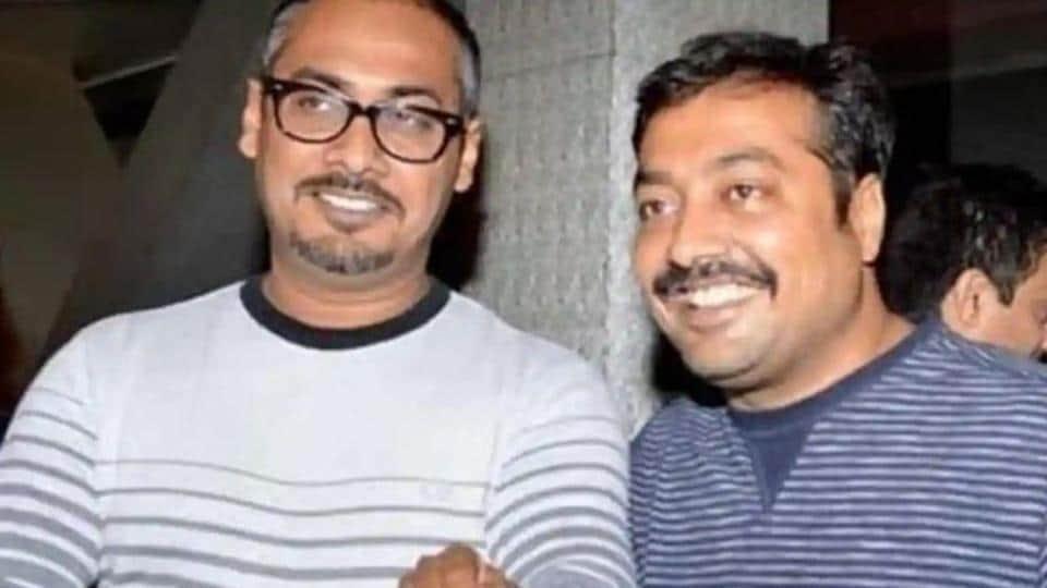 Anurag Kashyap and his brother, Abhinav Kashyap.