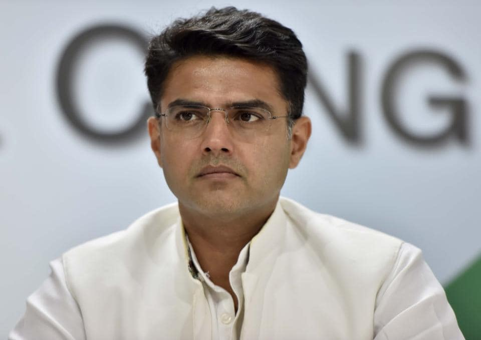 Sachin Pilot has the support of 18 party MLAs and three independents.